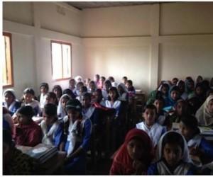 RA Wahid School pupils
